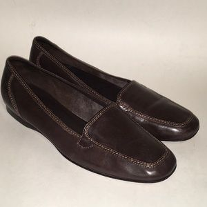 8.5 Narrow Brown Leather NORDSTROM Career Shoes